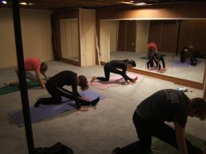 Our yoga studio